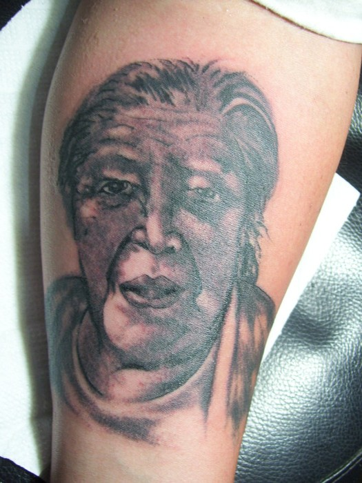 Retrato de abuela  Molina Tattoo